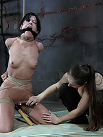 Sister Dee decides to give Elise Graves more orgasms than she can take and the results hot. She starts off moaning but it ends in screams.