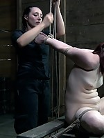 Sister Dee knows that she can take a bondage and pain slut like Claire Adams to the edge and back and all she will do is beg for more. Begging is always a encouraged with more pain and more orgasms. It makes for an endless cycle of suffering and pleasure,